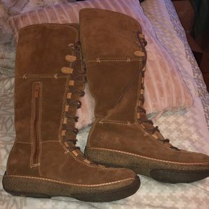 🔥Timberland sz 8 lace up boots leather🔥